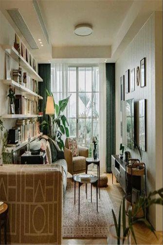 100平米三室一厅其他风格阳台欣赏图