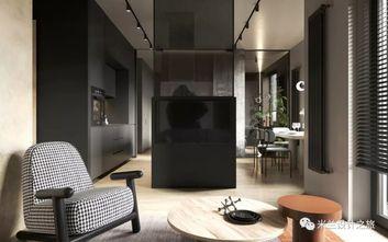 50平米公寓混搭风格客厅欣赏图