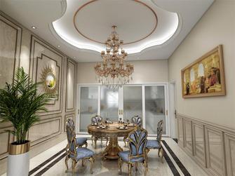 100平米别墅欧式风格餐厅欣赏图
