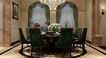 豪华型140平米别墅欧式风格餐厅装修案例