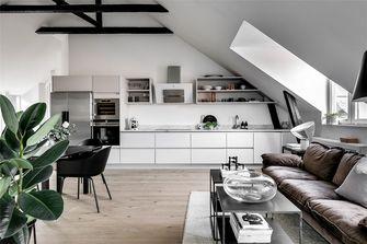 120平米复式北欧风格客厅装修案例