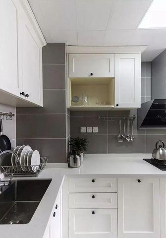 30平米以下超小户型美式风格厨房图