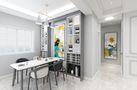 120平米三室两厅宜家风格餐厅装修效果图