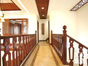 富裕型140平米别墅东南亚风格走廊装修效果图