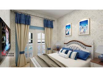 80平米四室一厅地中海风格卧室装修案例