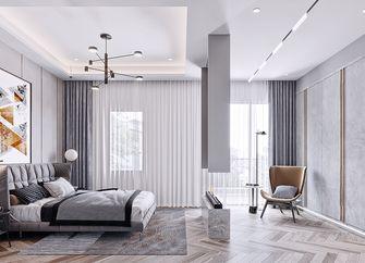 140平米复式现代简约风格卧室效果图