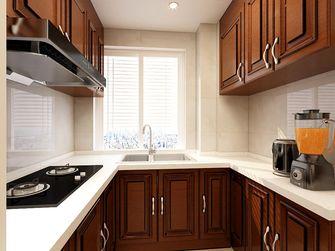 90平米三室两厅欧式风格厨房效果图