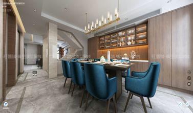 140平米别墅新古典风格餐厅装修图片大全