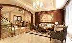 140平米别墅东南亚风格客厅装修案例