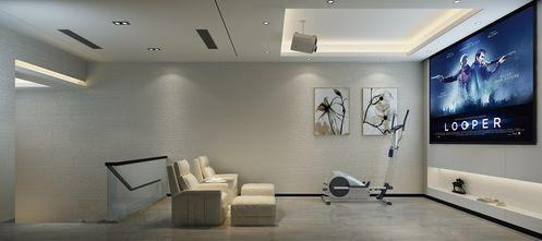 140平米别墅中式风格影音室装修效果图