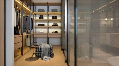 90平米三室两厅现代简约风格衣帽间装修案例