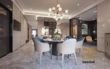 豪华型140平米三现代简约风格餐厅装修图片大全