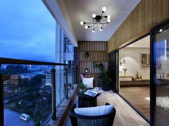 140平米三宜家风格阳台设计图