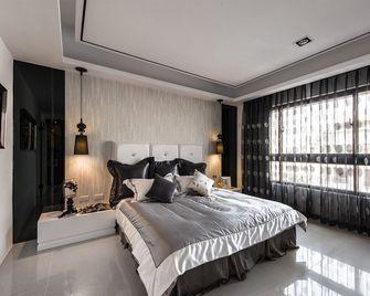 100平米公寓英伦风格卧室装修效果图