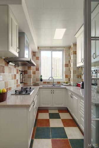 90平米地中海风格厨房背景墙图