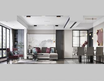 130平米三室三厅中式风格客厅图片大全