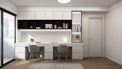 80平米四室一厅现代简约风格书房效果图