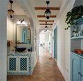140平米复式地中海风格走廊装修图片大全