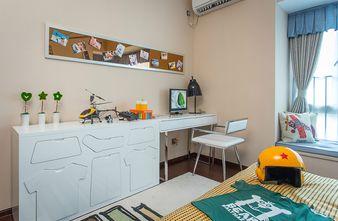 140平米三室一厅现代简约风格卧室设计图