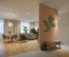 10-15万50平米公寓北欧风格玄关效果图