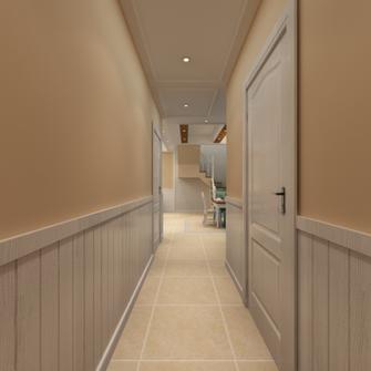 110平米复式美式风格走廊装修案例