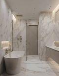 120平米三室两厅宜家风格卫生间图片大全