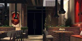 140平米混搭風格餐廳裝修案例