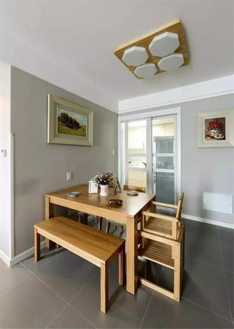 50平米公寓欧式风格餐厅欣赏图