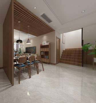 130平米复式日式风格餐厅效果图