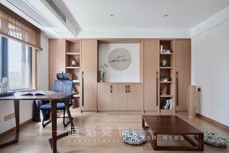 富裕型140平米三室两厅日式风格书房效果图