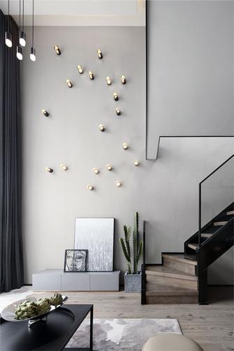 40平米小户型现代简约风格楼梯间装修图片大全