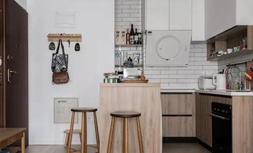 60平米一居室日式风格厨房装修效果图