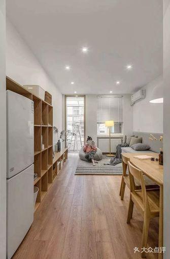 60平米三室一厅日式风格客厅装修图片大全