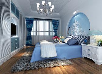 富裕型80平米三室三厅地中海风格卧室效果图