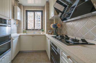 90平米三室两厅田园风格厨房装修图片大全