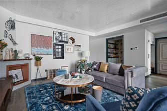 100平米三室两厅混搭风格客厅图片