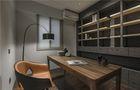 100平米三英伦风格书房装修案例