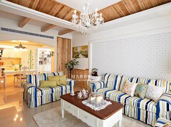 5-10万120平米四室三厅田园风格客厅图