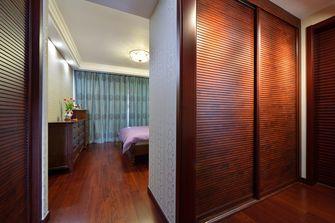 富裕型140平米三室两厅中式风格书房图片