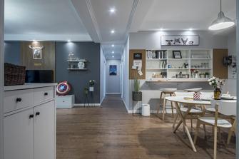 富裕型120平米三室两厅混搭风格客厅欣赏图