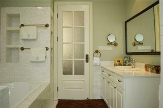 140平米三室三厅英伦风格卫生间装修案例