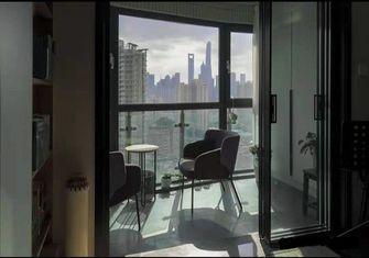110平米三混搭风格阳台欣赏图