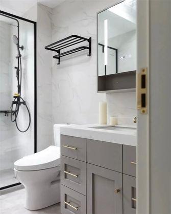 140平米三室两厅美式风格卫生间图片