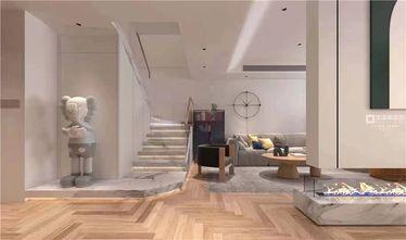 140平米四室两厅北欧风格楼梯间装修图片大全