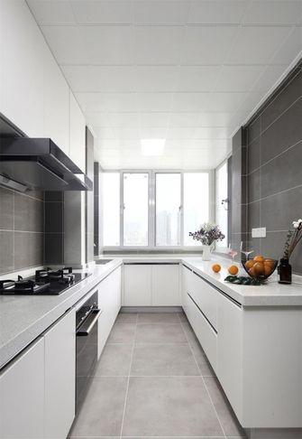 110平米三北欧风格厨房效果图