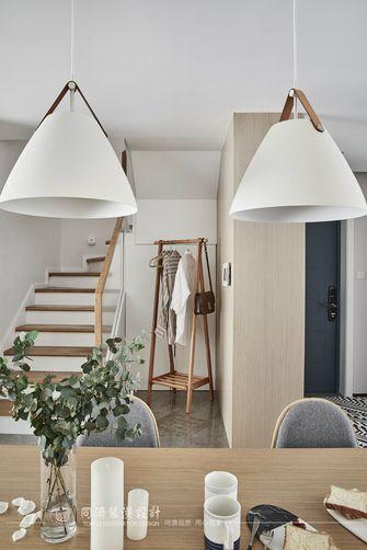 120平米复式北欧风格楼梯间装修效果图