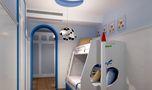 140平米四室两厅地中海风格儿童房装修图片大全