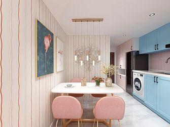 60平米公寓混搭风格厨房效果图