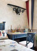 140平米三室两厅英伦风格儿童房装修效果图