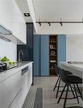 豪华型130平米三室两厅现代简约风格厨房图